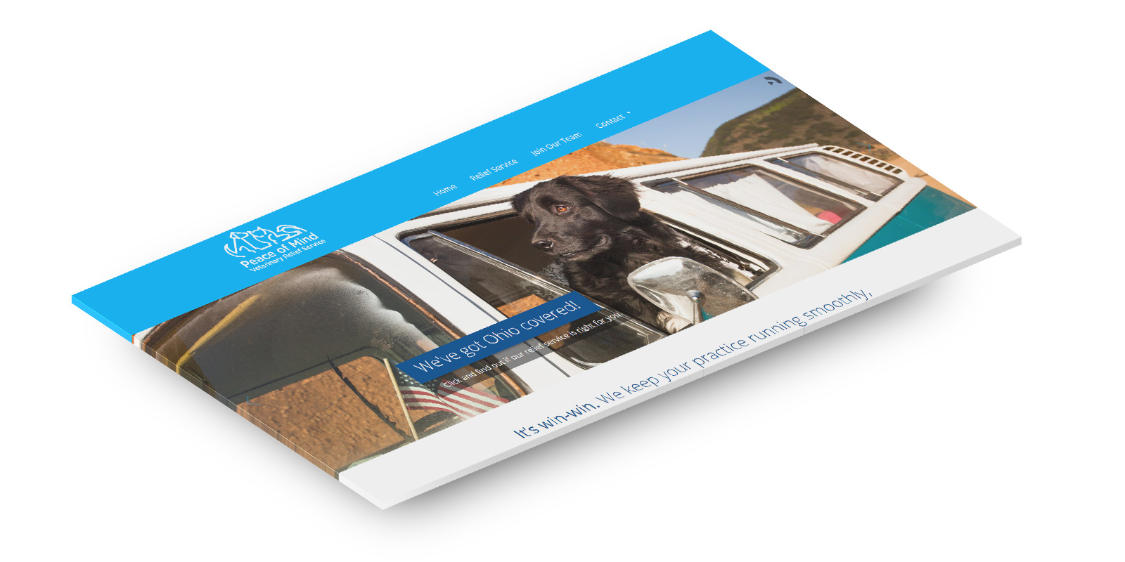Peace of Mind Veterinary Relief Service